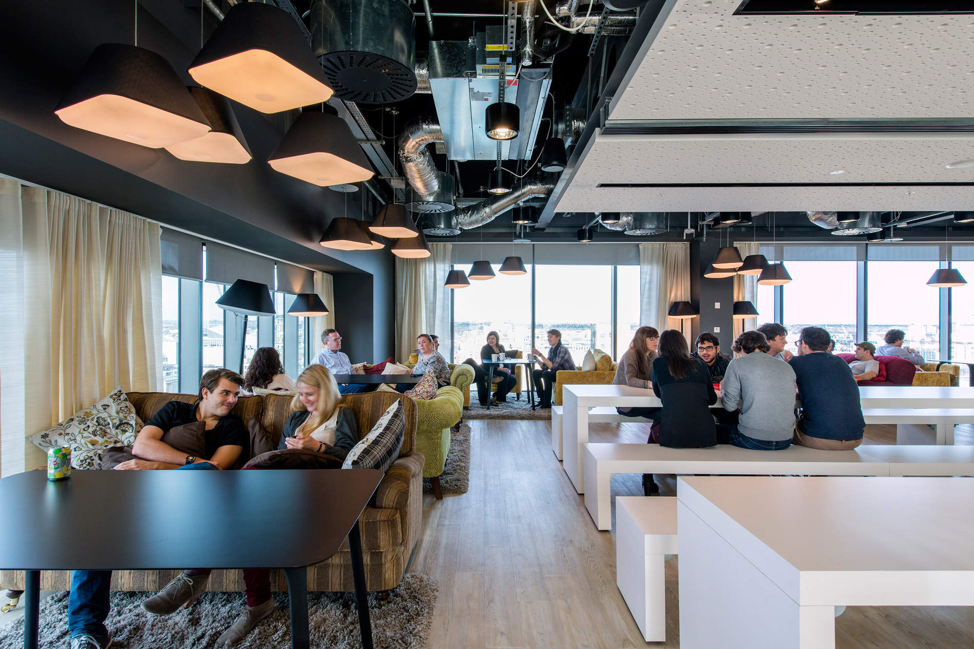 google office in zurich dock fooddock food restaurant leisure architecture technology design camenzind evolution awesome previously unpublished photos google