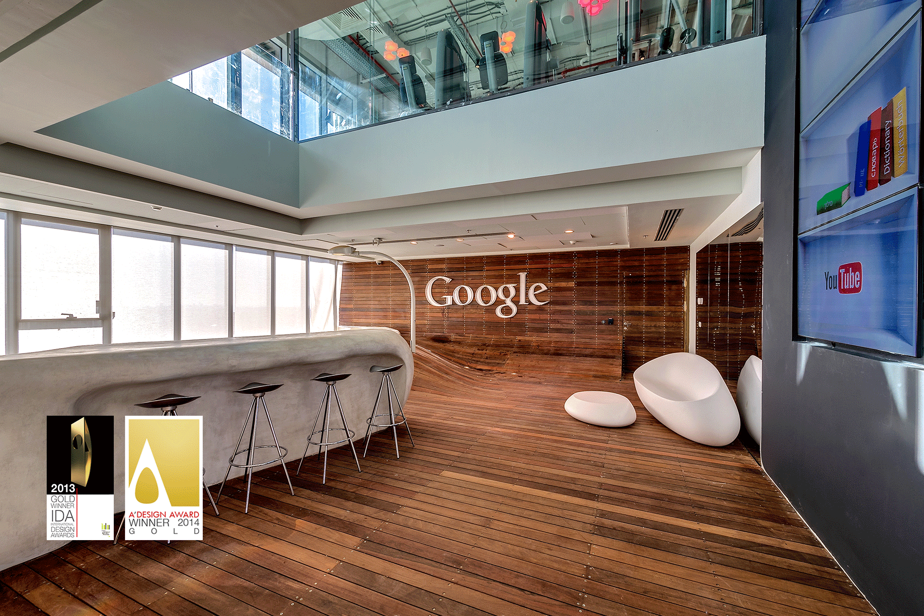 Google office tel aviv google office architecture for Office design google